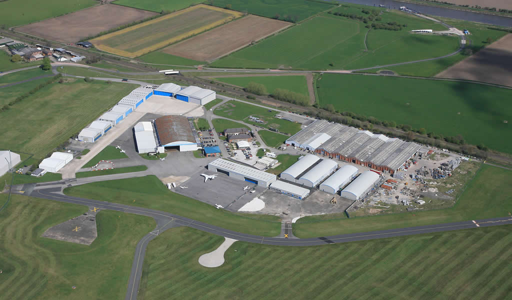 Aviation Park Group Aerial View