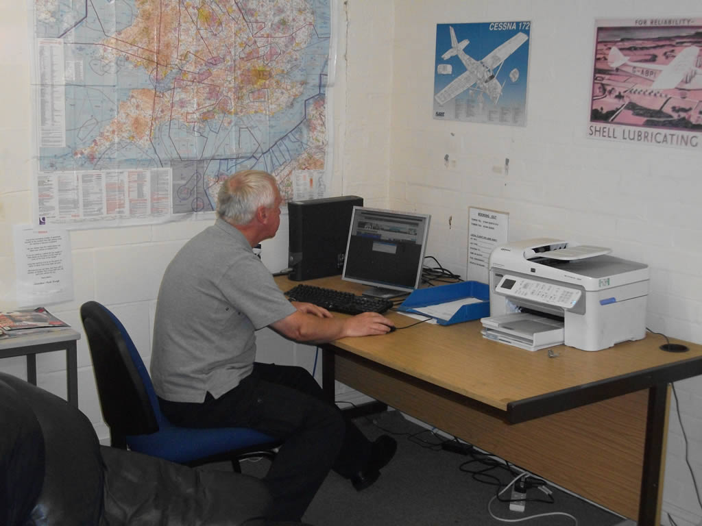 Aviation Park group Home Base Operators Office